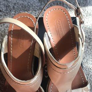 Coach Shoes - Coach Mendez wedge sandal